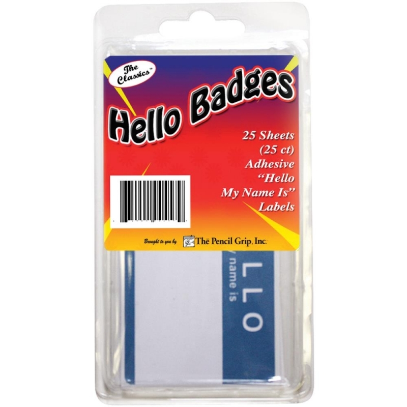 """""""Hello My name is..."""" Badges 25/Pkg"""