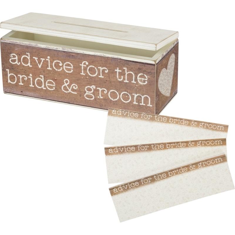 Advice Box - Advice For The Bride & Groom