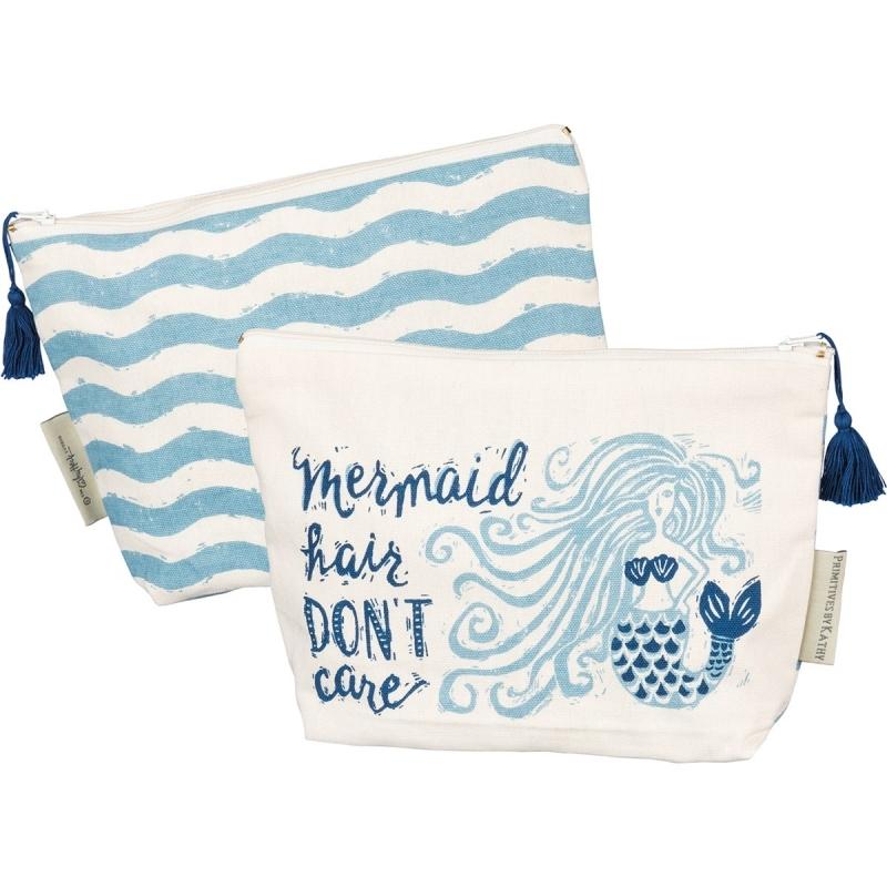 Zipper Pouch - Mermaid Hair Don't Care