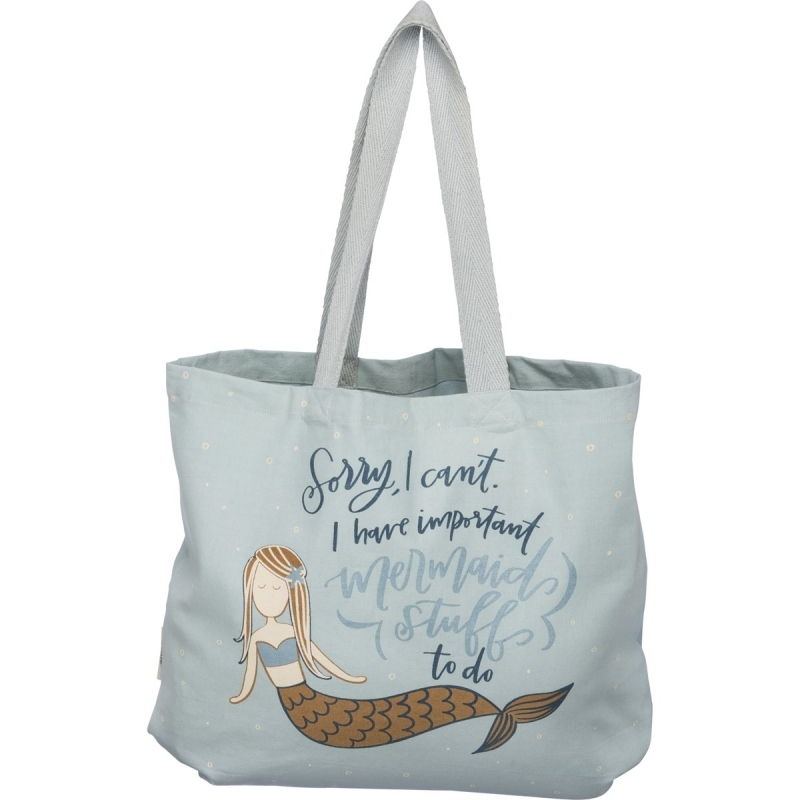 Tote - I Have Important Mermaid