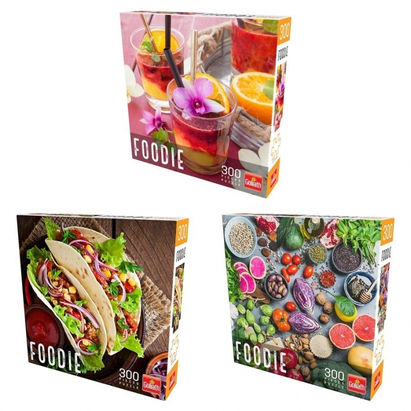 Puzzle Foodie Ast (6) 300 Pieces