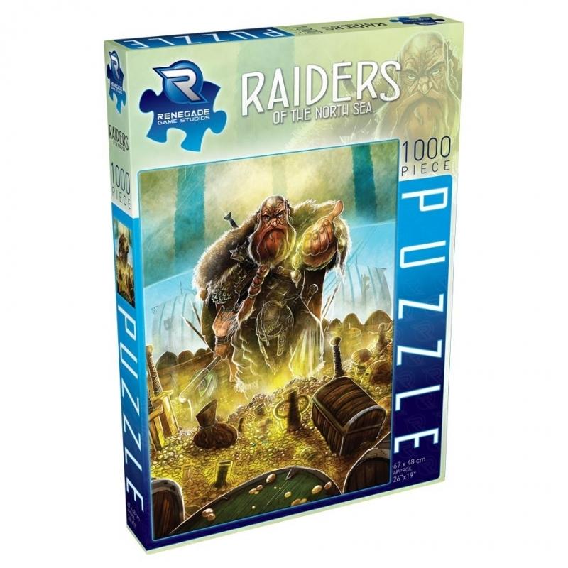 Puzzle Raiders of the North Sea (1000)