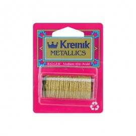 Kreinik Medium Metallic Corded Braid #16 11yd
