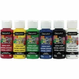 Crafter's Acrylic Value Pack 6/Pkg