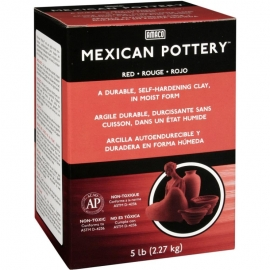 Mexican Self-Hardening Clay 5lb