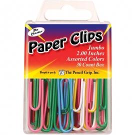 "Jumbo Paperclips 2"" 30/Pkg"