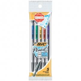 BIC Mechanical #2 Pencils .5mm 5/Pkg