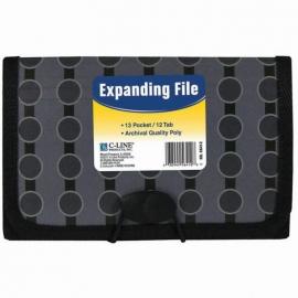 13-Pocket Coupon Expanding File