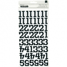 American Crafts Chipboard Alphabet Stickers