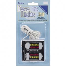 Deco Lights Battery Operated Teeny Bulbs - 20 Bulbs