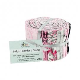 "Fabric Palette Jellies 2.5""X42"" 20/Pkg"
