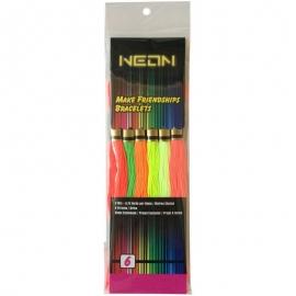 Iris Neon Friendship Bracelets Floss Pack 6/Pkg