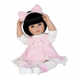 Kitty Kat - Black Hair, Brown Eyes - Cuddle Me vinyl