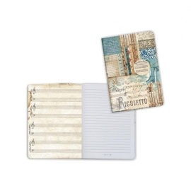 Stamperia Lined Notebook A6