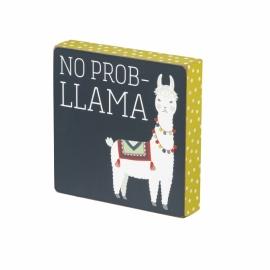 Block Sign - No Prob-llama