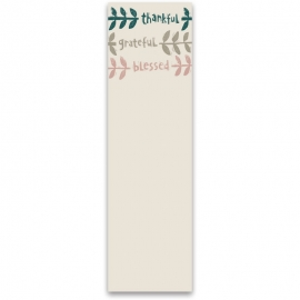 List Notepad - Thankful Grateful Blessed