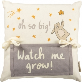 Milestone Pillow - Oh So Big