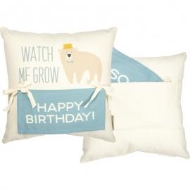 Milestone Pillow - Bear