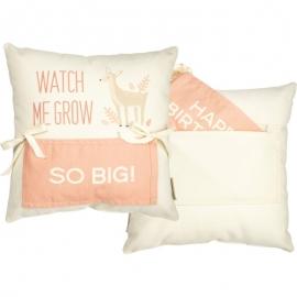 Milestone Pillow - Deer