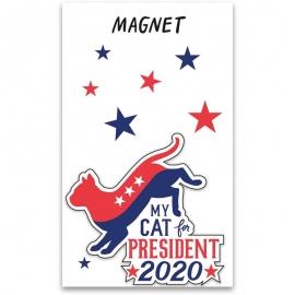 Magnet - My Cat For President 2020