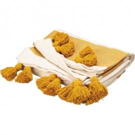 Throw - Saffron Tassels
