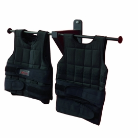 Wall-Mounted Weight Vest Rack