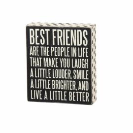 Box Sign - Best Friends