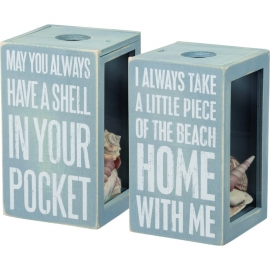 Sea Shell Holder - Piece Of The Beach With Me