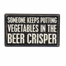 Box Sign - Beer Crisper