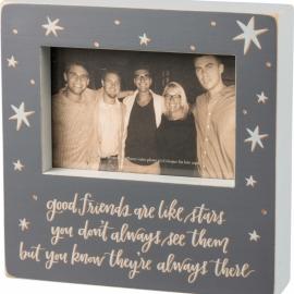 Box Frame - Good Friends Are Like Stars