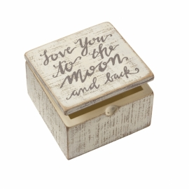 Hinged Box - Love You To The Moon And Back
