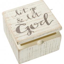 Hinged Box - Let Go & Let God