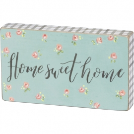 Block Sign - Home Sweet Home