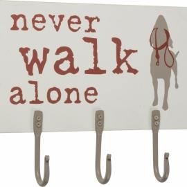 Hook Board - Never Walk Alone