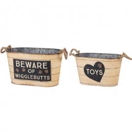 Bin Set - Toys, Beware Of Wigglebutts