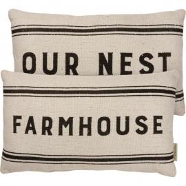 Pillow - Farmhouse Our Nest