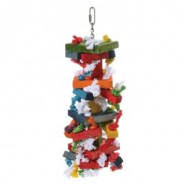 Knots & Blocks Bird Toy
