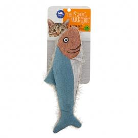 Fish Kicker Cat Toy - Catnip, Plush
