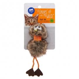 Goofy Bird Cat Toy - Catnip