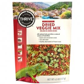Dried Veggie Mix Reptile Treat - Natural