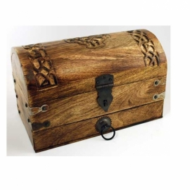 Celtic Cross Treasure chest