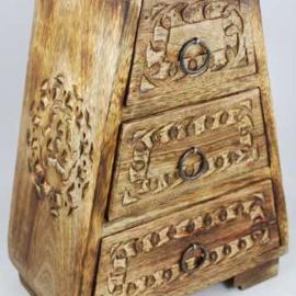 Celtic Wooden Cupboard