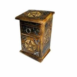 Pentagram Herb Cupboard