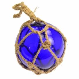 """Cobalt Blue Glass Float 5"""""""