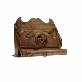 Pentagram letter holder