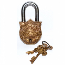 "4 1/2"" Buddha lock"