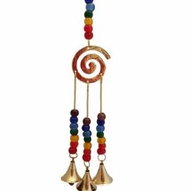 7 Chakra Spiral wind chime