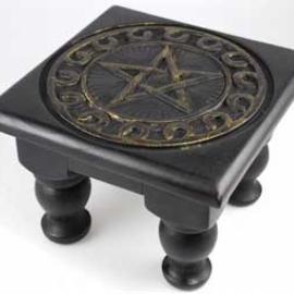 6x6 Pentagram altar table