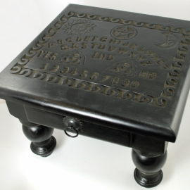 12x12x9 Spirit Board altar table with Drawer