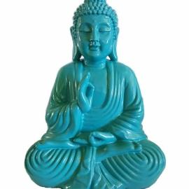 7 3/4 turquoise Buddha